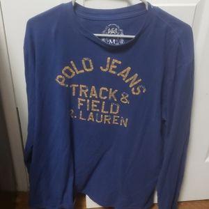 Ralph lauren Polo Jean's long sleeve cotton shirt